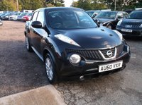 USED 2010 60 NISSAN JUKE 1.6 ACENTA PREMIUM 5d 117 BHP Beautifully Maintained Juke, FSH, Long MOT and Comes With 2 Keys!