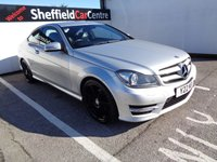USED 2014 14 MERCEDES-BENZ C CLASS 1.6 C180 BLUEEFFICIENCY AMG SPORT 2d AUTO 154 BHP £248 A MONTH LOW MILEAGE AUTOMATIC  HALF LEATHER BLUETOOTH CRUSE CONTROL AND SPEED LIMITER ALLOY WHEELS  MERCEDES SERVICE HISTORY