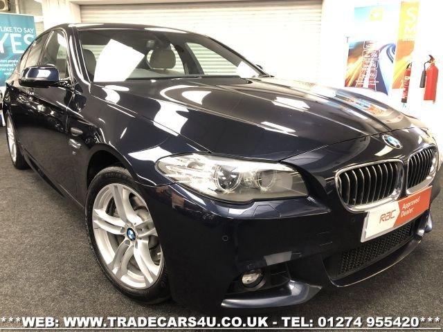 2015 65 BMW 5 SERIES 520D M SPORT 8 SPEED AUTO 4 DOOR