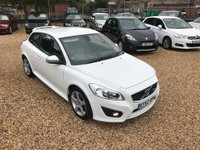 USED 2013 62 VOLVO C30 2.0 R-Design Lux 2dr Sat Nav & Leather