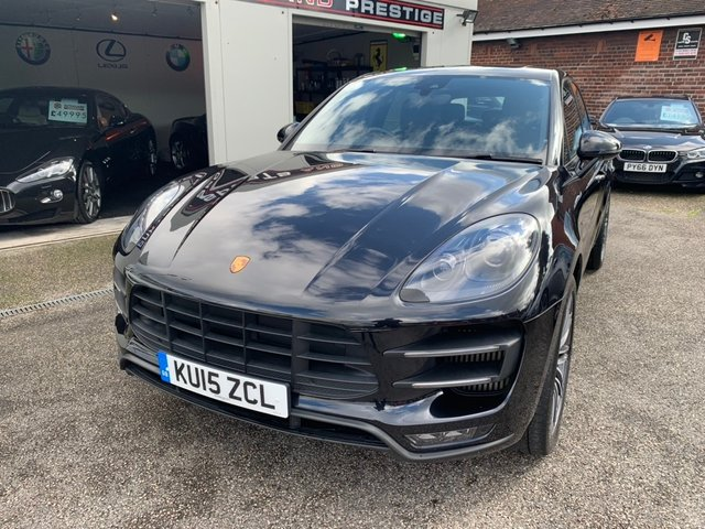 PORSCHE MACAN at Euxton Sports and Prestige