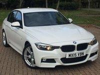 2015 BMW 3 SERIES 2.0 320D M SPORT 4d 181 BHP £12495.00
