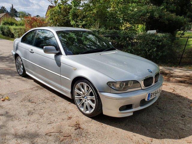 2004 54 BMW 3 SERIES 2.5 325CI SPORT AUTO 2DR 190 BHP