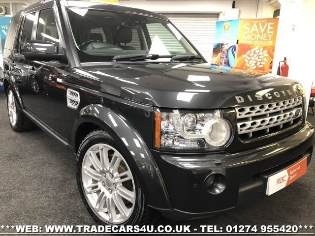 2013 63 LAND ROVER DISCOVERY 4 3.0 SDV6 HSE DIESEL AUTO 4WD 7 SEATS