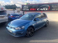 USED 2015 65 VOLKSWAGEN GOLF 1.6 MATCH TDI BLUEMOTION TECHNOLOGY DSG 5d AUTO 109 BHP
