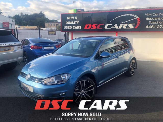 2015 65 VOLKSWAGEN GOLF 1.6 MATCH TDI BLUEMOTION TECHNOLOGY DSG 5d AUTO 109 BHP