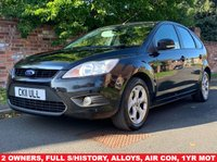 USED 2011 11 FORD FOCUS 1.6 SPORT 5d 99 BHP 2 OWNERS FULL SERVICE HISTORY, 1YR MOT EXCELLENT CONDITION,  ALLOYS, AIR CON, RADIO CD, E/WINDOWS, R/LOCKING, FREE WARRANTY, FINANCE AVAILABLE, HPI CLEAR, PART EXCHANGE WELCOME,
