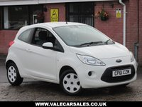 2011 FORD KA 1.2 EDGE (LOW MILEAGE) 3dr £2990.00