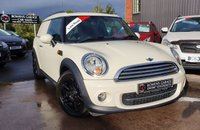 USED 2014 14 MINI CLUBVAN 1.6 COOPER D 110 BHP (NO VAT) 4 Services - Low Mileage - £20 Tax - NO VAT