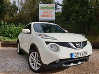 USED 2017 17 NISSAN JUKE 1.2 N-CONNECTA DIG-T 5dr Sat Nav & Parking Sensors