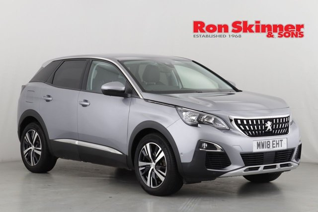View our 2018 18 PEUGEOT 3008 1.5 BLUEHDI S/S ALLURE 5d 129 BHP