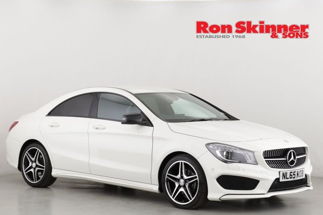 View our 2015 65 MERCEDES-BENZ CLA 2.1 CLA 200 D AMG LINE 5d 134 BHP
