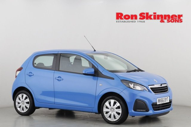 View our 2016 66 PEUGEOT 108 1.0 ACTIVE 3d 68 BHP
