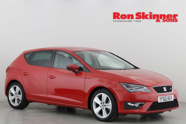 View our 2015 65 SEAT LEON 2.0 TDI FR TECHNOLOGY 5d 184 BHP