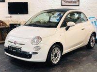 2010 FIAT 500 1.2 C LOUNGE 3d 69 BHP £4495.00