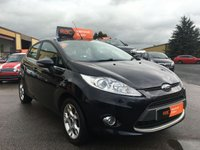 USED 2011 61 FORD FIESTA 1.2 ZETEC 5d 81 BHP Well maintained car,