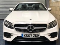 USED 2018 67 MERCEDES-BENZ E CLASS 2.0 E220d AMG Line Cabriolet 2dr Diesel G-Tronic+ (s/s) (194 ps) +FULL SERVICE+WARRANTY+FINANCE