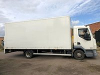 USED 2012 12 DAF TRUCKS LF 4.5 FA 45.160 160 BHP7.5T BOX VAN WITH TAILLIFT +PART EX TO CLEAR+ TAILLIFT+