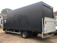 USED 2011 61 IVECO EUROCARGO 3.9 75E16K AUTO 160 BHP BOX VAN WITH TAILLIFT +AUTOMATIC+ ONLY 51K+