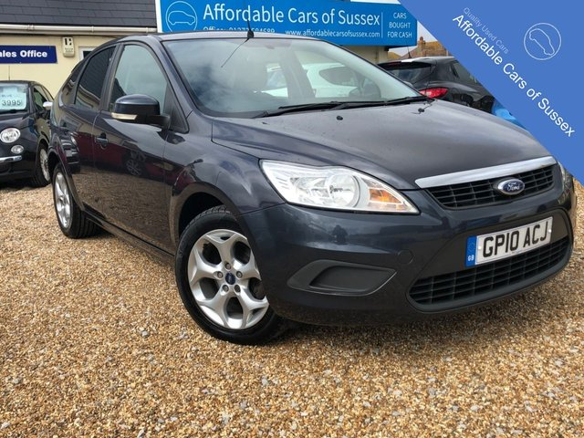 2010 10 FORD FOCUS 1.6 STYLE 5d 100 BHP