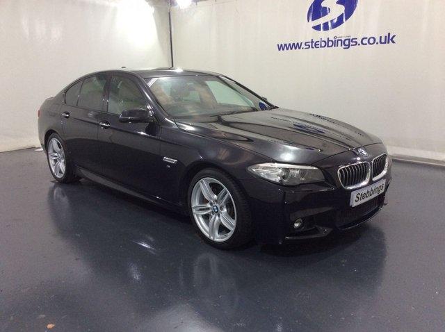 2015 15 BMW 5 SERIES 2.0 525D M SPORT 4d 215 BHP