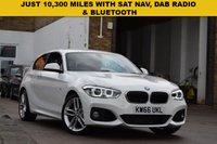 2016 BMW 1 SERIES 1.5 118I M SPORT 3d AUTO 134 BHP £14999.00