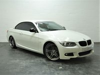 USED 2011 11 BMW 3 SERIES 2.0 320D M SPORT 2d 181 BHP 7 SERVICES + STUNNING IN WHITE + FULL HEATED LEATHER + BLUETOOTH