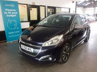 USED 2016 66 PEUGEOT 208 1.2 PURETECH ALLURE PREMIUM 5d 82 BHP One gentleman owner from new, full Peugeot service history, supplied with first Mot due end of October. Finished in Metallic Twilight Blue with a huge specification.