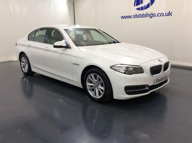 2016 66 BMW 5 SERIES 2.0 520D SE 4d 188 BHP