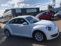 USED 2013 13 VOLKSWAGEN BEETLE 1.4 DESIGN TSI 3d 158 BHP A Stunning VW Beetle  A Stunning 1.4 VW Beetle With Rear Spoiler 2 Keys Alloy Wheels Dab Radio