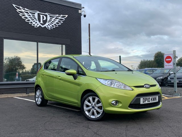 USED 2010 10 FORD FIESTA 1.2 ZETEC 5d 81 BHP AA WARRANTY,  MOT AND SERVICE INCLUDED