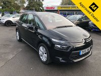 2015 CITROEN C4 PICASSO 1.6 E-HDI EXCLUSIVE 5d 113 BHP IN BLACK WITH 26000 MILES, FULL SERVICE HISTORY, 1 OWNER AND A GREAT SPEC.  £7799.00
