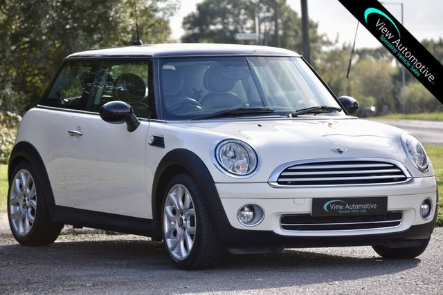2010 60 MINI HATCH COOPER 1.6 COOPER 3d AUTO 122 BHP