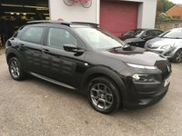 USED 2016 66 CITROEN C4 CACTUS 1.6 BLUEHDI FEEL ETG6 S/S 5d AUTO 98 BHP DIESEL AUTOMATIC, LOW MILEAGE, FULL HISTORY, BLUETOOTH, DIGITAL AIR CONDITION