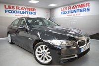 USED 2015 65 BMW 5 SERIES 2.0 520D SE 4d AUTO 188 BHP Full Leather, Sat Nav, Cruise control, DAB radio