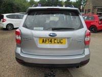 USED 2014 14 SUBARU FORESTER 2.0 D X 5d 145 BHP ONE OWNER FROM NEW