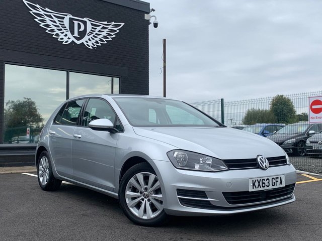 USED 2013 13 VOLKSWAGEN GOLF GOLF SE BLUEMOTION TECHNOLOGY  AA WARRANTY,  MOT AND SERVICE INCLUDED