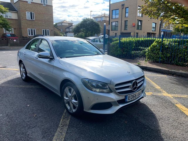 2016 66 MERCEDES-BENZ C CLASS 2.1 C 220 D SE EXECUTIVE EDITION 4d AUTO 170 BHP
