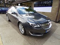USED 2014 64 VAUXHALL INSIGNIA 2.0 ELITE CDTI ECOFLEX S/S 5d 138 BHP * 1 KEEPER FROM NEW * FULL SERVICE HISTORY * ZERO ROAD TAX * DAB RADIO * 2 KEYS *