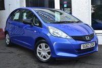USED 2013 63 HONDA JAZZ 1.2 I-VTEC S 5d 89 BHP CRACKING LOW MILEAGE HONDA JAZZ