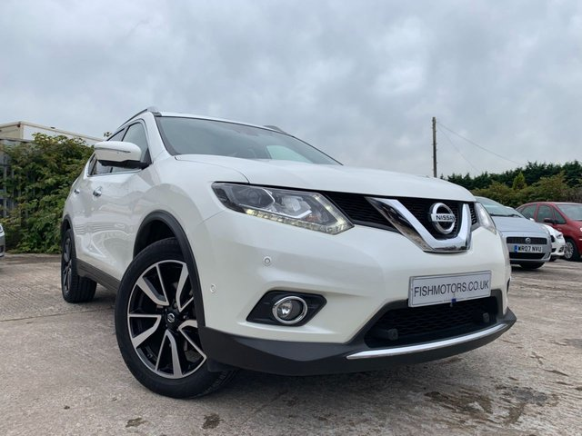 USED 2016 NISSAN X-TRAIL 1.6 DCI TEKNA XTRONIC 5d AUTO 130BHP 7 SEATS FSH+LEATHER+SATNAV+CAMERA+PHONE+PAN SUNROOF+PRIVACY+CRUISE+CLIMATE+