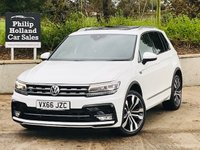 USED 2016 66 VOLKSWAGEN TIGUAN 2.0 R LINE TDI BMT 5d 148 BHP Panoramic roof, Heated seats
