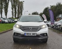 USED 2014 14 HONDA CR-V 1.6 I-DTEC SR 5d 118 BHP NAVIGATION SYSTEM + BLUETOOTH + REVERSING CAMERA * FRONT AND REAR PARKING AID * HEATED SEATS * 18 INCH ALLOYS