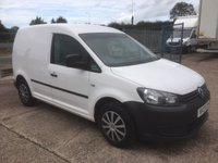 USED 2013 13 VOLKSWAGEN CADDY 1.6 C20 TDI (75 BHP)
