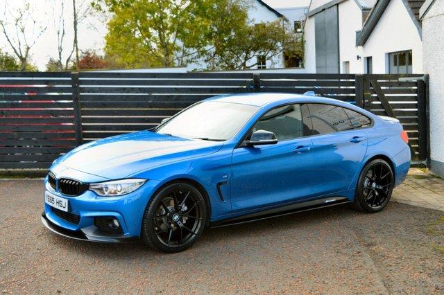 2015 BMW 4 SERIES 2.0 420D M SPORT GRAN COUPE 4d AUTO 190