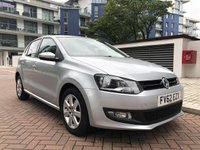 USED 2012 62 VOLKSWAGEN POLO 1.4 MATCH DSG 5d AUTO 83 BHP