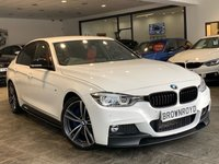 USED 2016 BMW 3 SERIES 3.0 330D M SPORT 4d AUTO 255 BHP +BM PEFOR KIT+RED LTHER+FBMWH+
