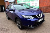 USED 2016 16 NISSAN QASHQAI 1.5 DCI TEKNA 5d 108 BHP +360 CAMERAS +GLASS ROOF +MORE