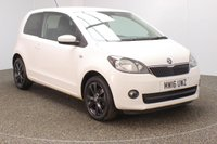 USED 2016 16 SKODA CITIGO 1.0 COLOUR EDITION MPI 3DR 59 BHP FULL SKODA SERVICE HISTORY + £20 12 MONTHS ROAD TAX + AIR CONDITIONING + RADIO/CD/AUX + PRIVACY GLASS + ELECTRIC WINDOWS + 15 INCH ALLOY WHEELS