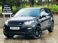 2016 LAND ROVER DISCOVERY SPORT 2.0 TD4 HSE BLACK 5d AUTO 180 BHP 7SEATS £24995.00